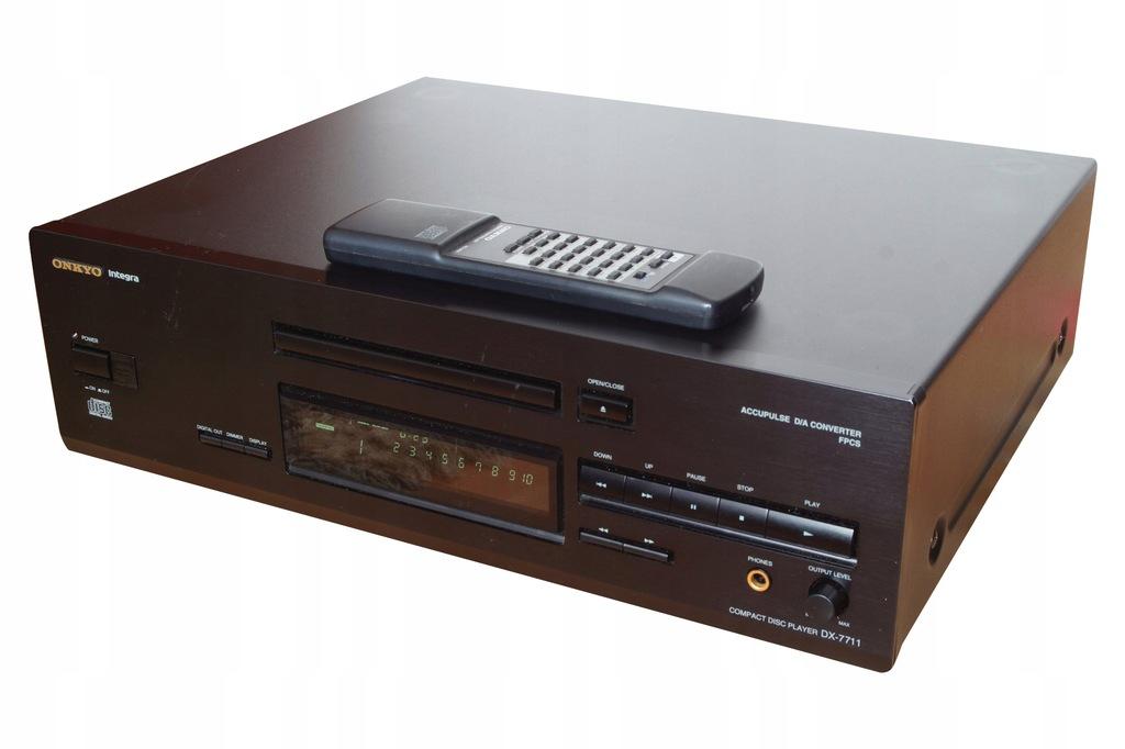 Odtwarzacz CD Onkyo DX-7711 + pilot Myślenice