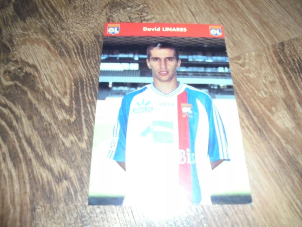 David Linares. Zdjęcie. Olympique Lyonnais