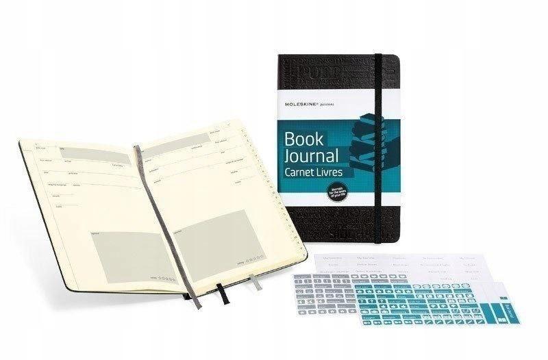 Notes Passion Journal L tw. czarny MOLESKINE