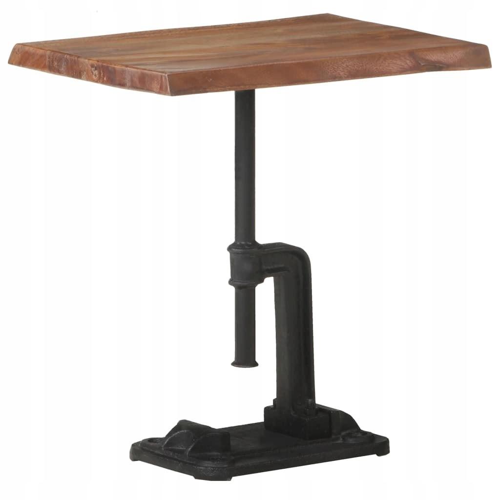VidaXL Stolik boczny, 45x35x49 cm, brązowe drewno
