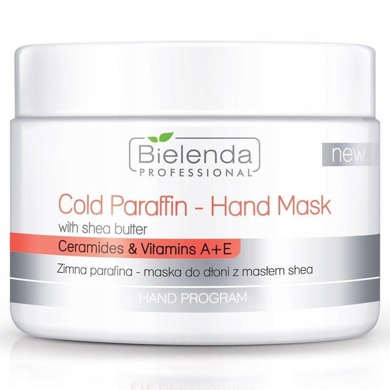 BIELENDA Zimna parafina - maska do dłoni z masłem