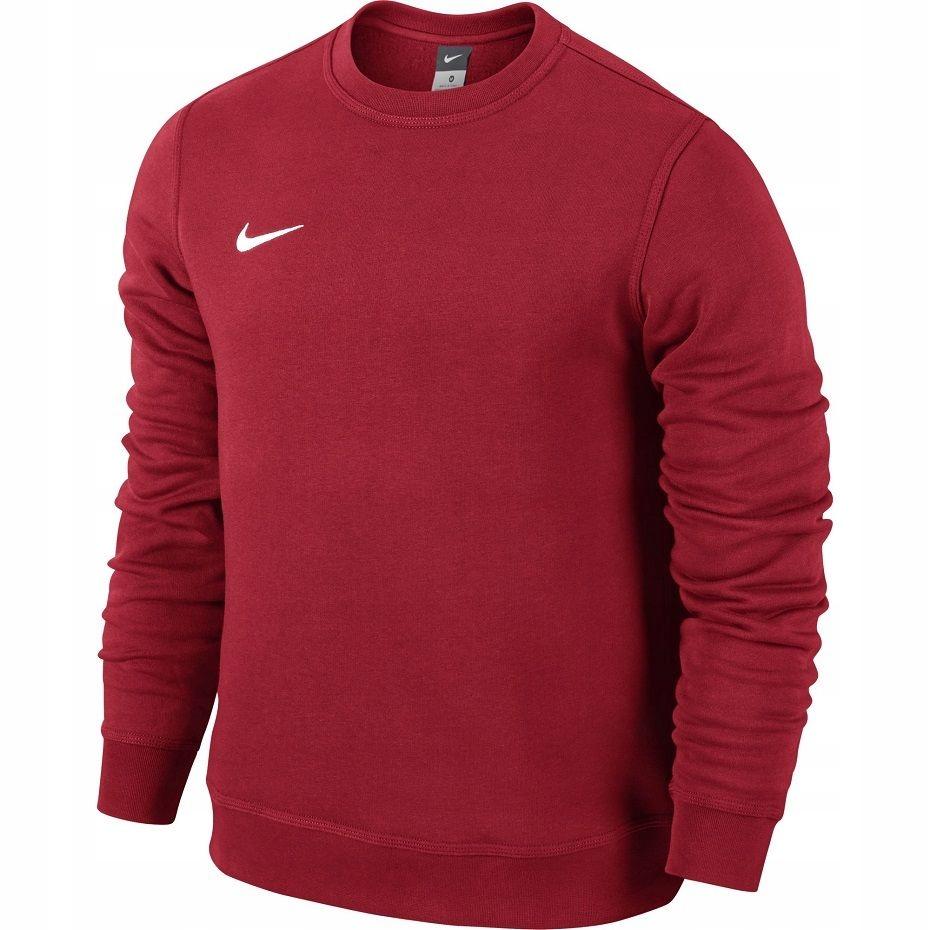 Bluza Nike Team Club Crew czerwona 658681 657 L