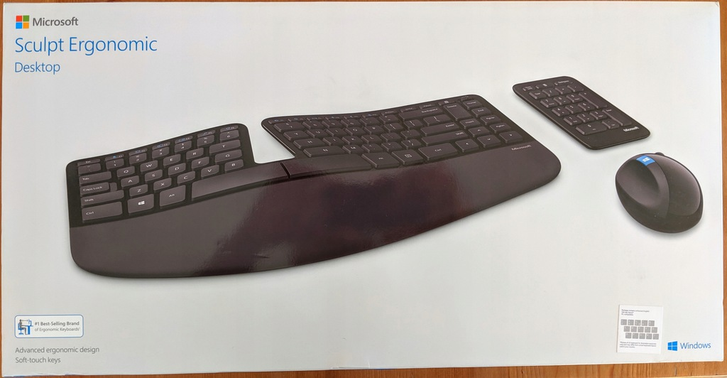 Klawiatura Microsoft Sculpt Ergonomic