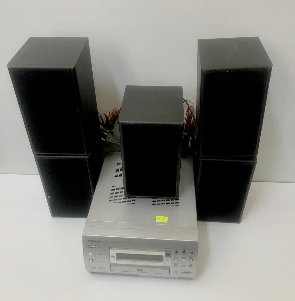 Wieża Panasonic SA-PM06 + 5 głośników (2503/18)