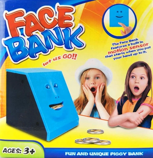 Skarbonka Face Bank Zjada Monety Super Prezent 8617255839 Oficjalne Archiwum Allegro