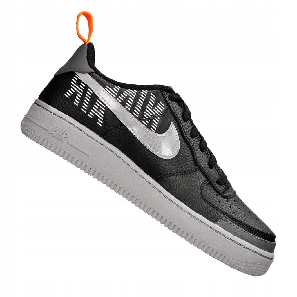 Czarne Buty Buty sportowe dziecięce Nike r.36,5