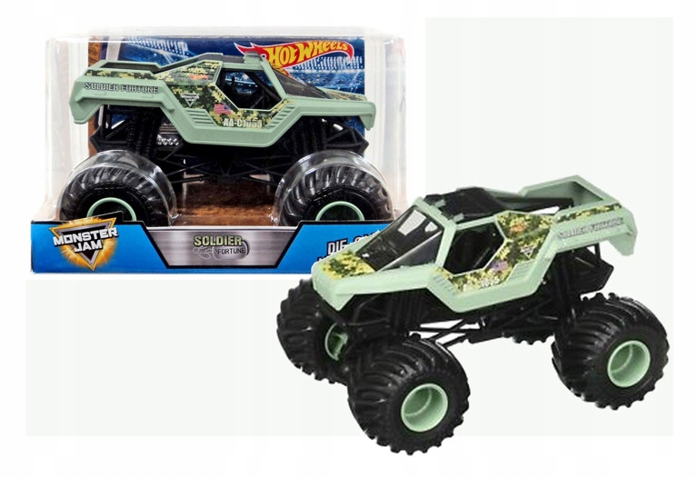 Hot Wheels MONSTER JAM Auto SOLDIER FORTUNE CBY61
