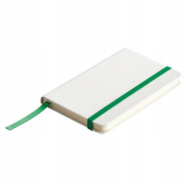 Notatnik Badalona 90x140/80k linia, zielony/biały