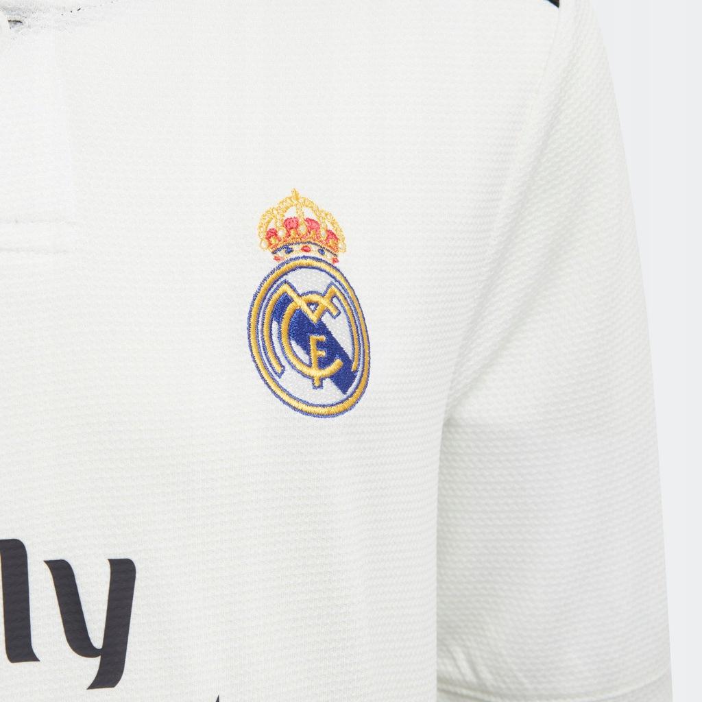 Komplet dziecięcy Real Madrid Home Mini Bialy 164