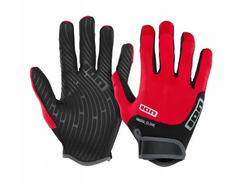 Rękawiczki ION Amara Full Finger Red 2019