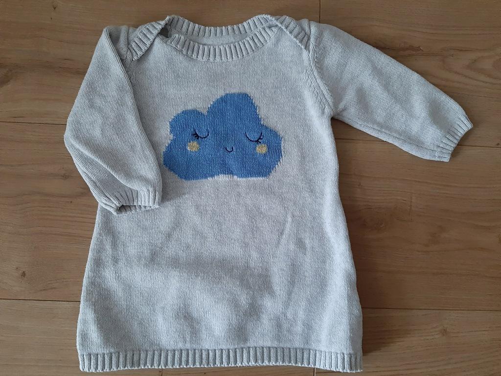 Tunika sweterek r. 74 marks &spencer