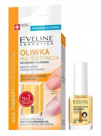 Eveline Nail Therapy Oliwka Multiodżywcza 12 ml