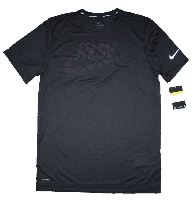 NIKE DRI FIT MEN RUNNING KOSZULKA DO BIEGANIA S