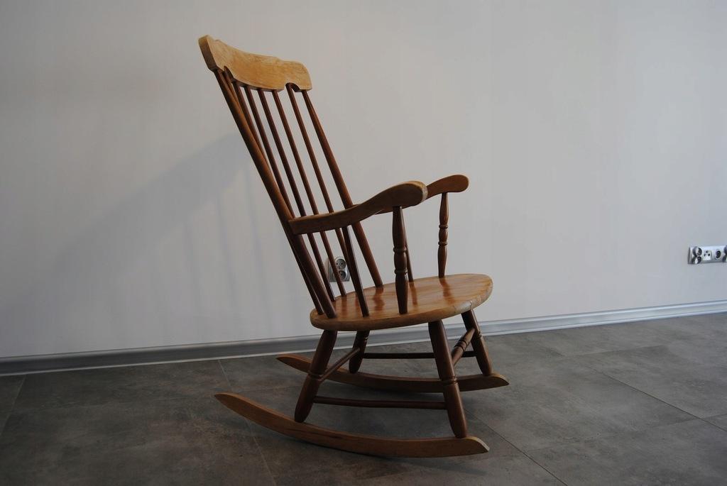 szczebelkowy fotel bujany bujak