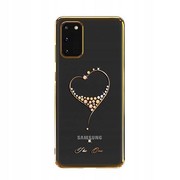 Kingxbar Wish zdobione etui do Samsung Galaxy S20