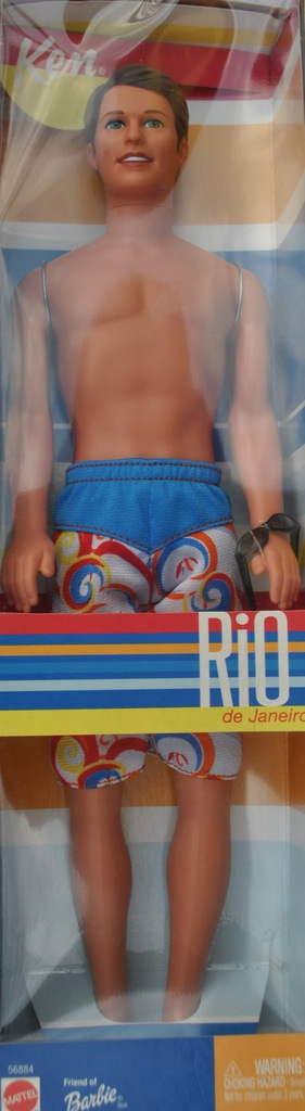 lalka friend of barbie KEN RIO DE JANEIRO 2002