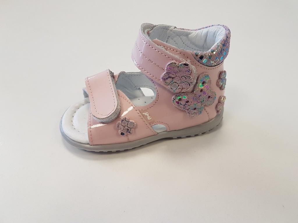 EMEL E2207-19 sandałki,ROCZKI,sandały r 18