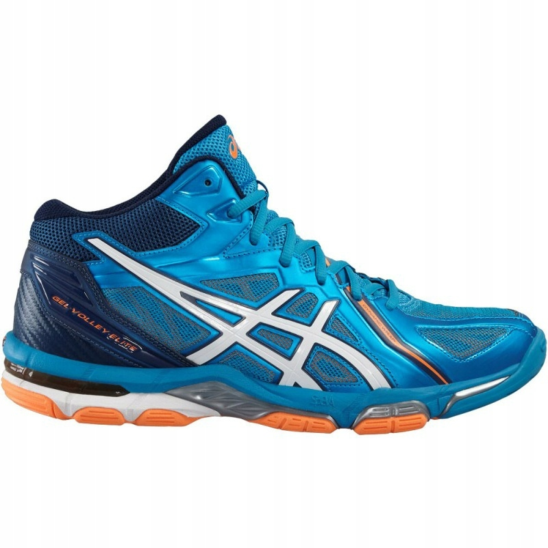 46% Buty Asics Gel Volley Elite 3 MT B501N r 43,5