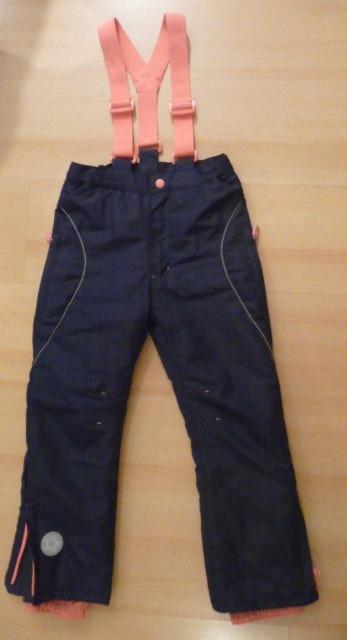 spodnie narciarskie dla dziewczynki 128 cm