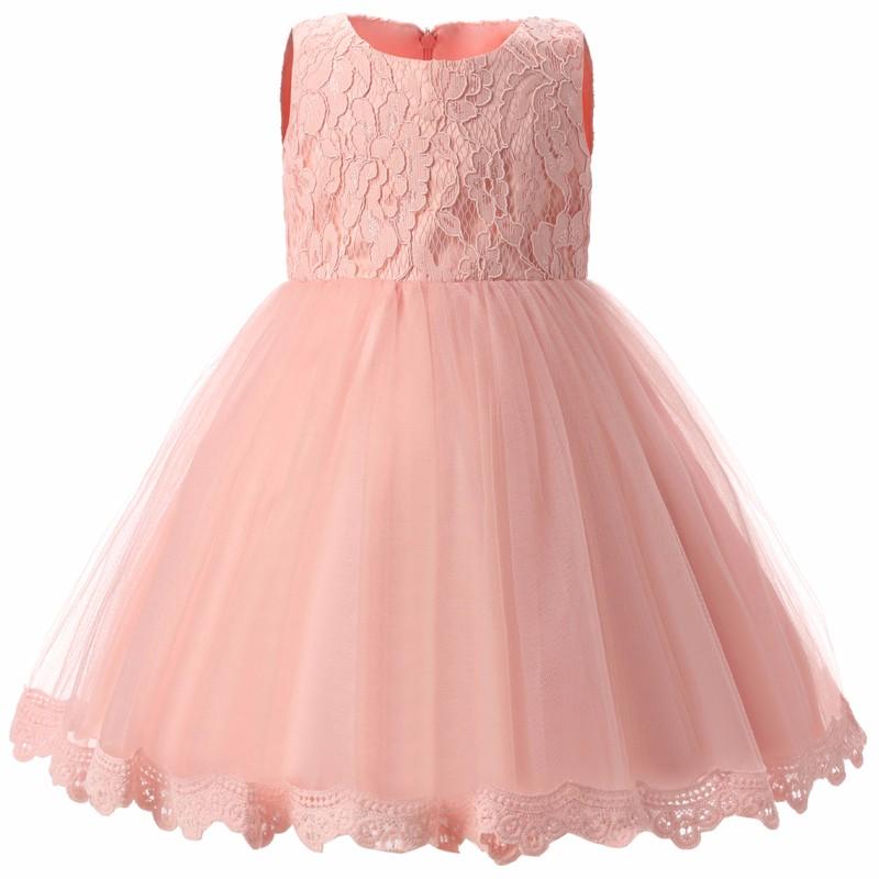 Elegancka sukienka chrzest ślub 6 kolorów 7-12 mc