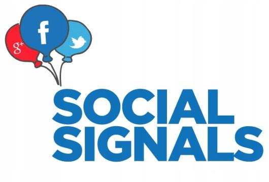 SEO pozycjonowanie SOCIAL SIGNALS 9900+ SYGNAŁÓW
