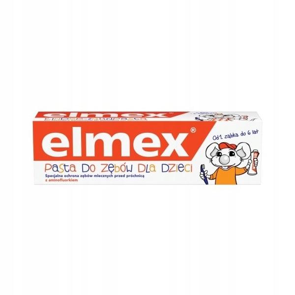 ELMEX pasta do zębów dla dzieci 0-6 lat