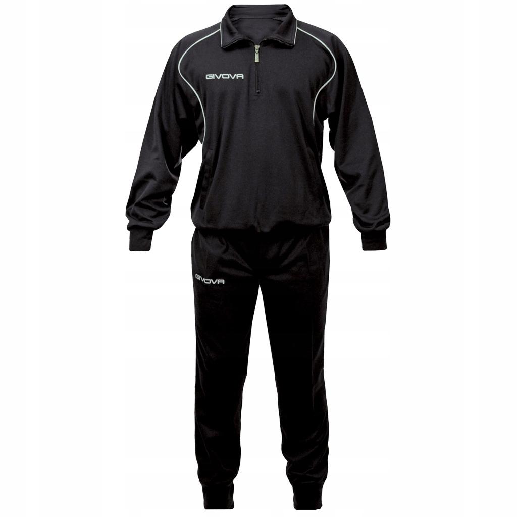 GIVOVA dres CIPRO r.XL spodnie bluza komplet czarn