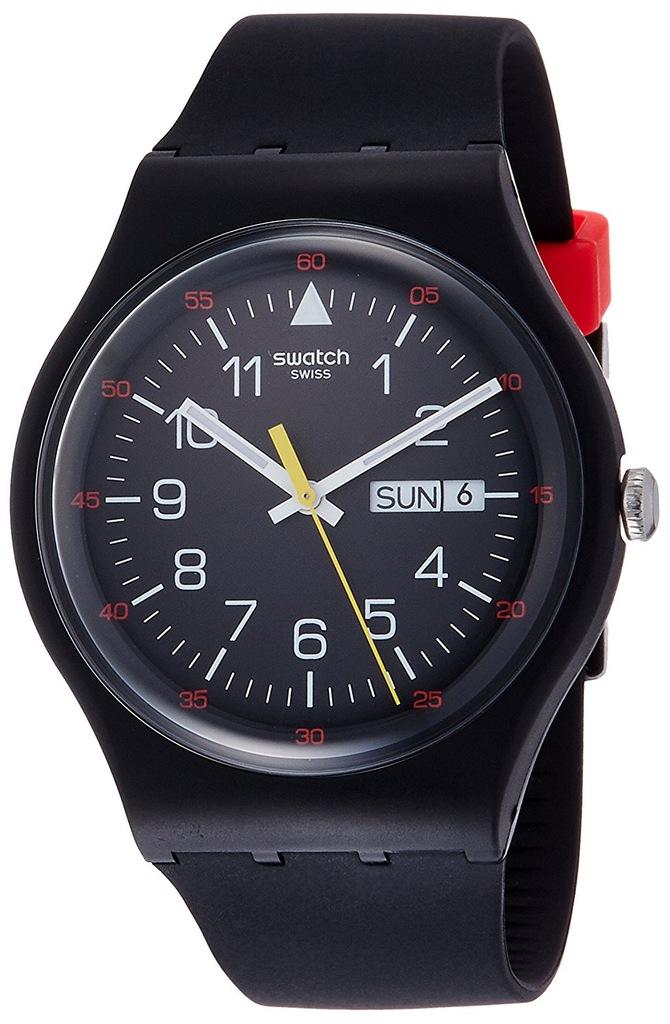 Zegarek SWATCH SUOB724 unisex czarny SWISS MADE