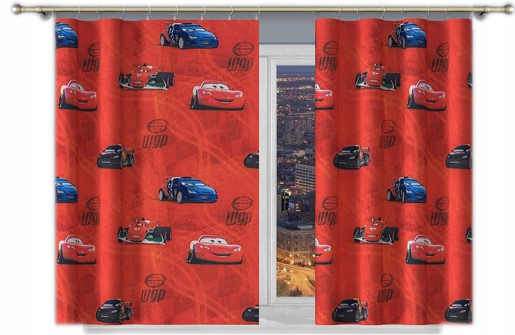 Disney Cars / Rajdek wys. 160cm zasłona (z belki)