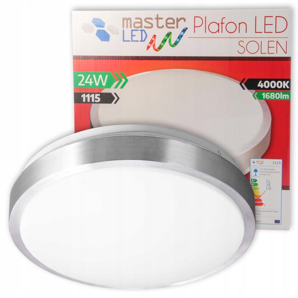 Plafon NATYNKOWY sufitowy LAMPA oprawa IP44 LED