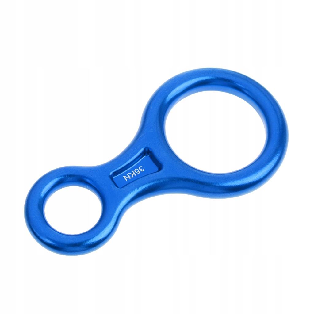 Urządzenie asekuracyjne - niebieski