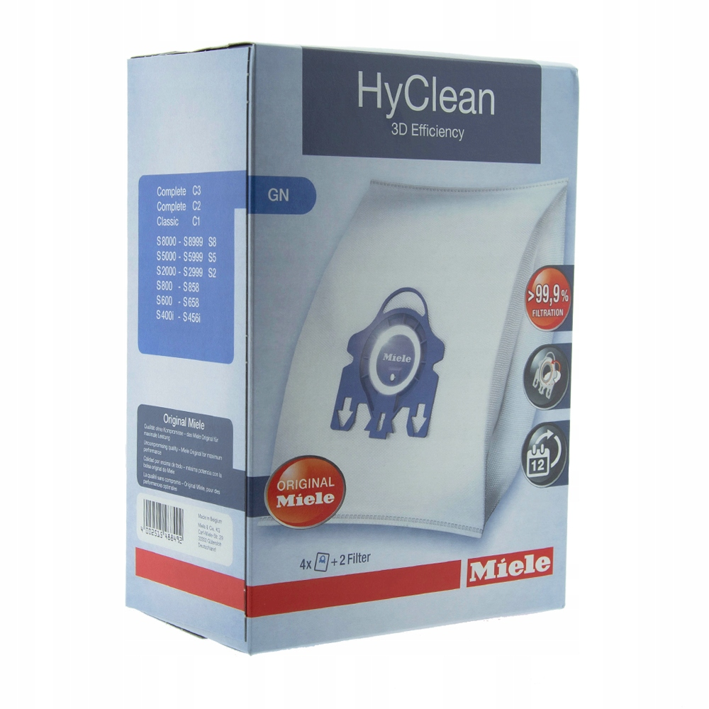 MIELE COMPLETE C3 WORKI ORGINALNE GN HYCLEAN 3D
