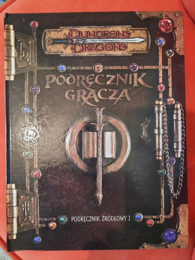 Podręcznik Gracza Dungeons Dragons 3.0