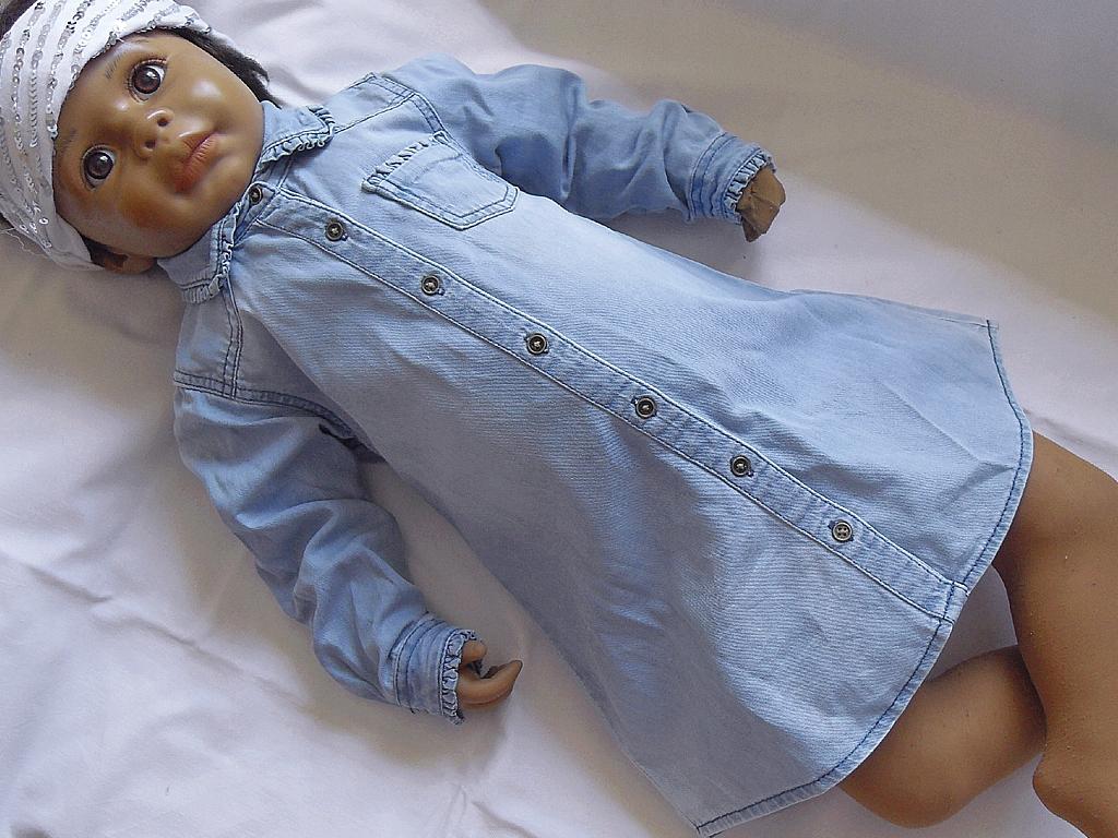 Sukienka jeansowa NEXT, 98cm, 2-3 lata