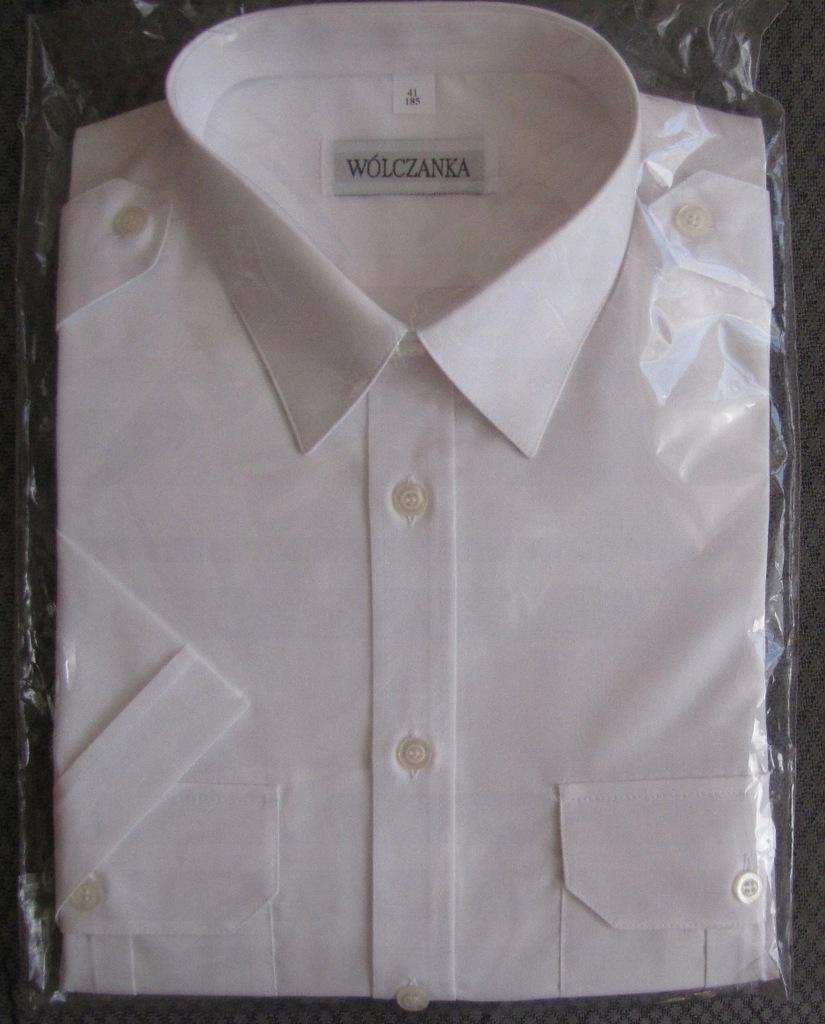 koszule biale z pagonami wolczanka