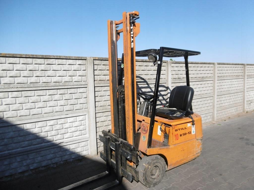 Wózek widłowy Still R50-12 Przesuw Wolny skok