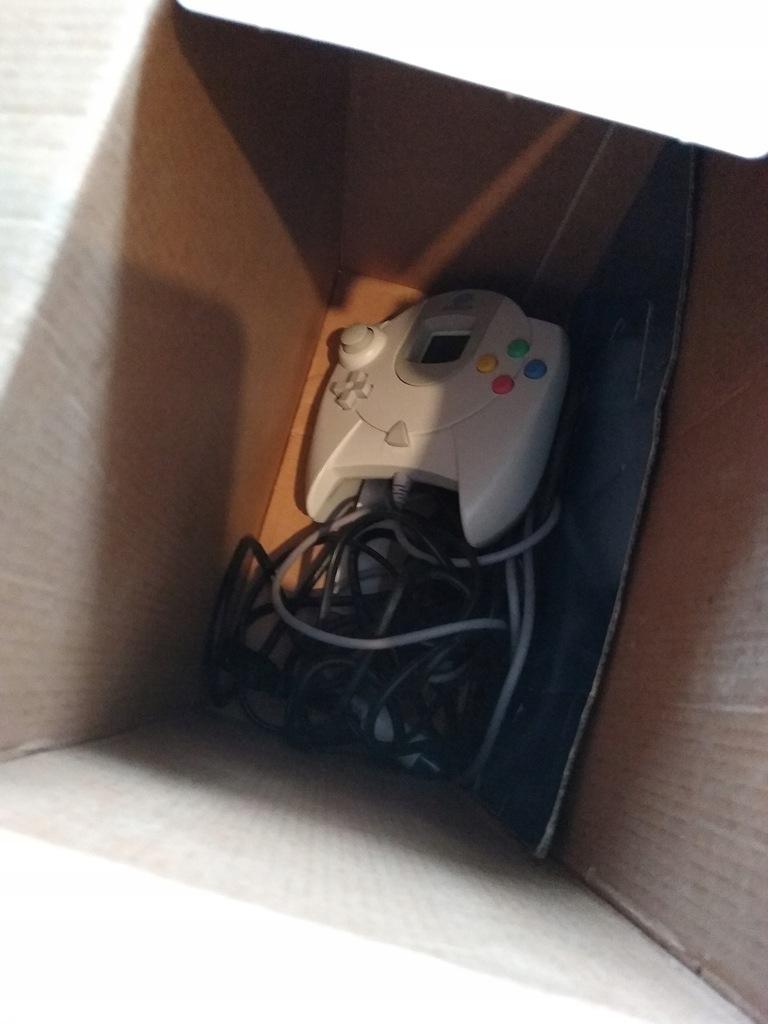 Dreamcast Sega BOX + Komplet ! ŁADNY