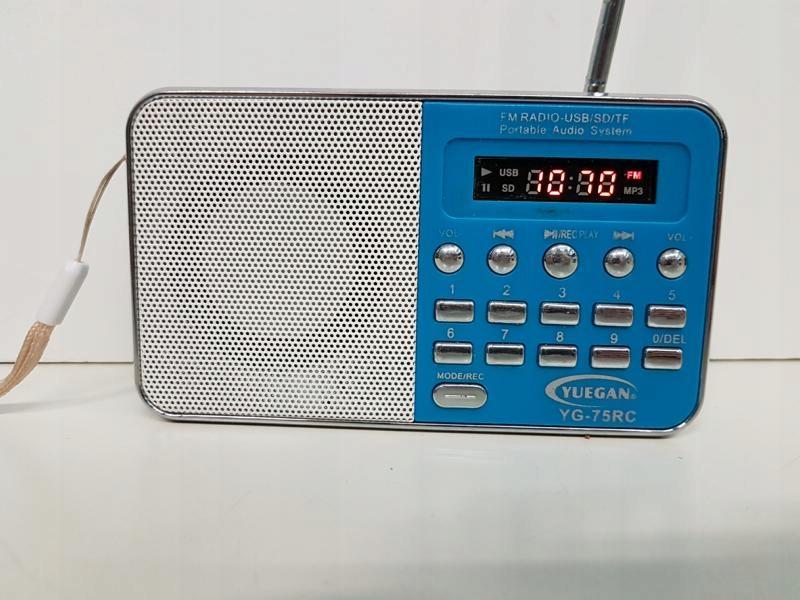 MINI RADIO YUEGAN YG-75RC