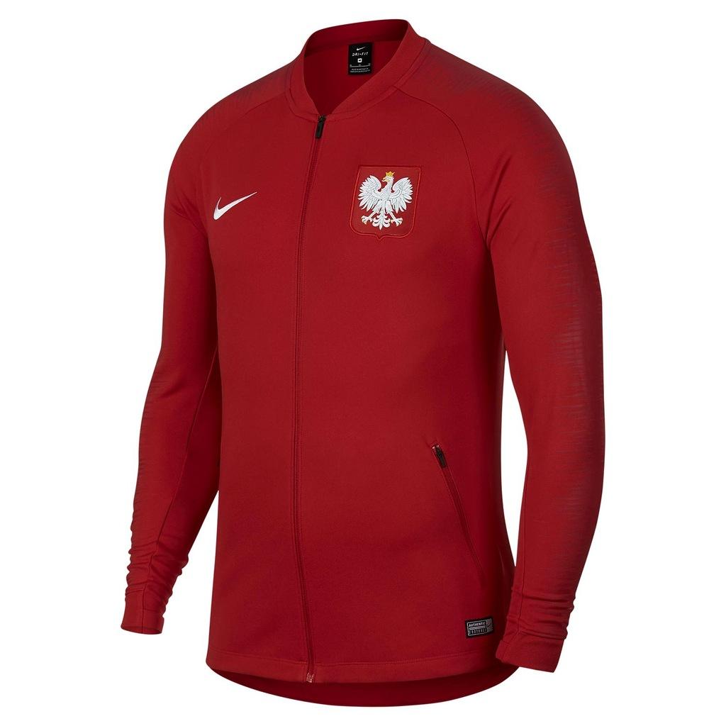 Bluza Reprezentacji Polski Nike AnthemMŚ 2018 # M