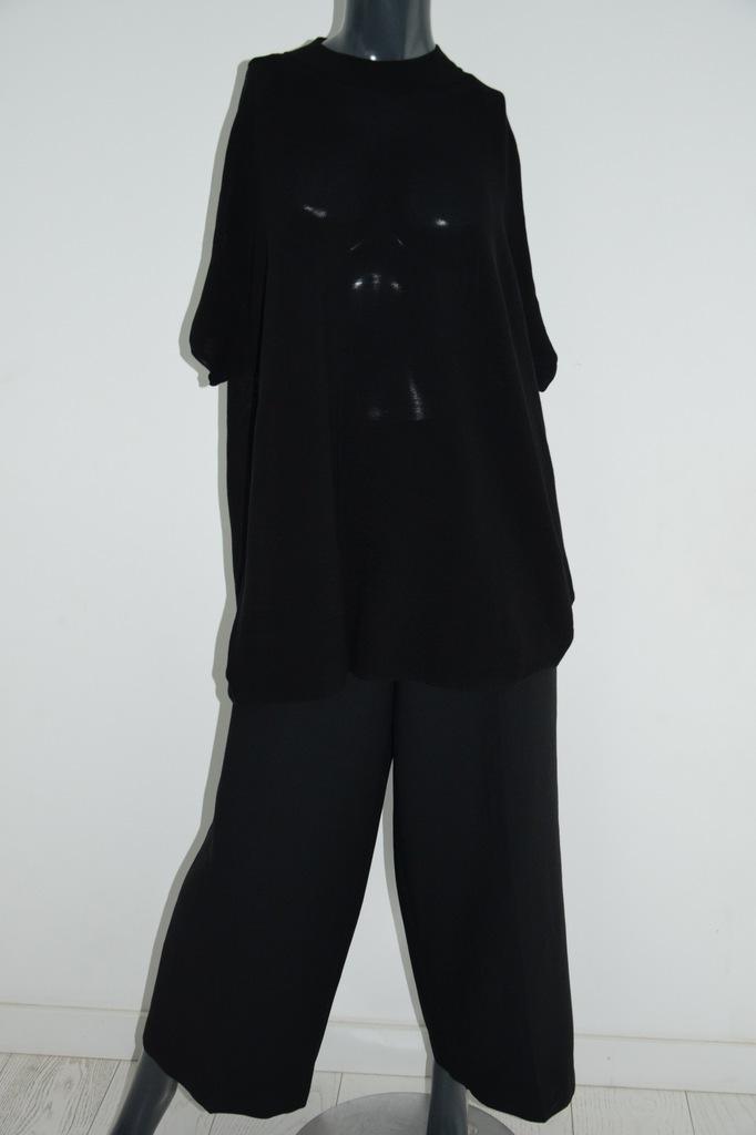 cos czarny sweter bluzka oversize bawełna r. M/38