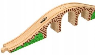 Most do kolejek drewnianych rozbudowa tory WD90059