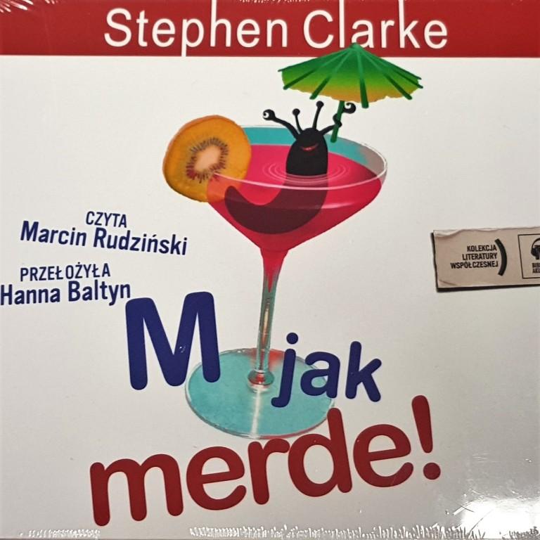M jak Merde - Stephen Clerke - audiobook CD
