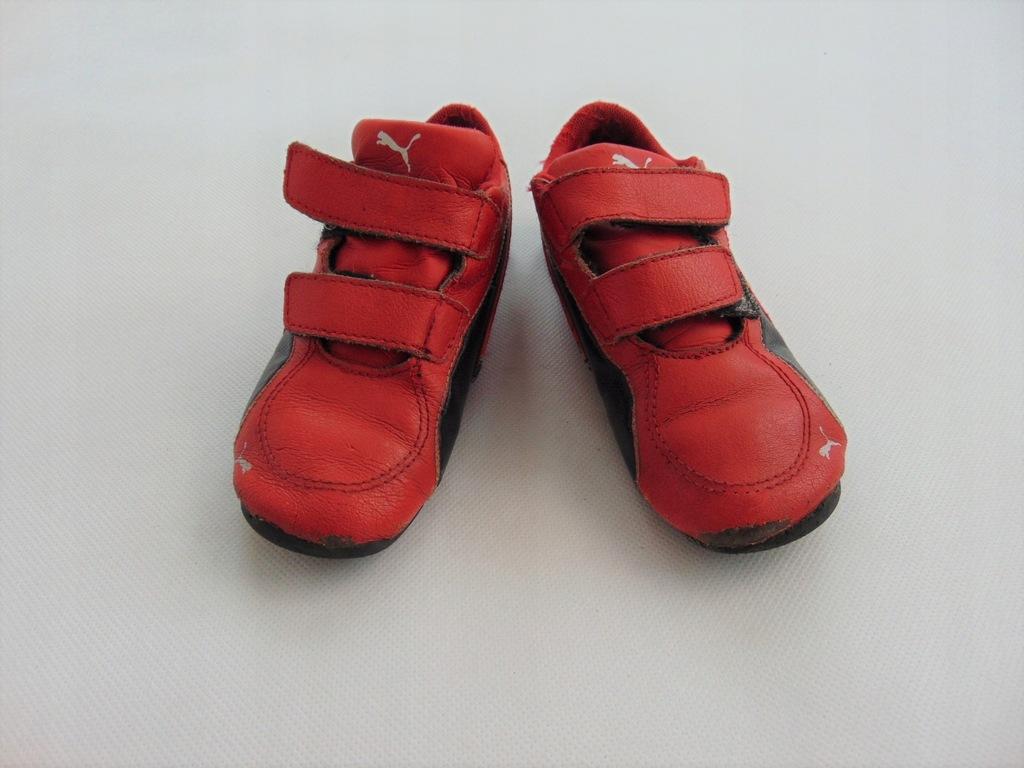 NIKE buty sportowe chłopięce, rzepy, r. 27