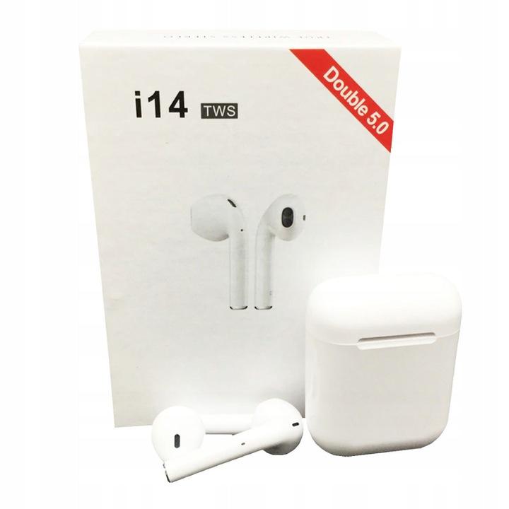 Słuchawki bluetooth i14 TWS bezprzewodowe i13 i12