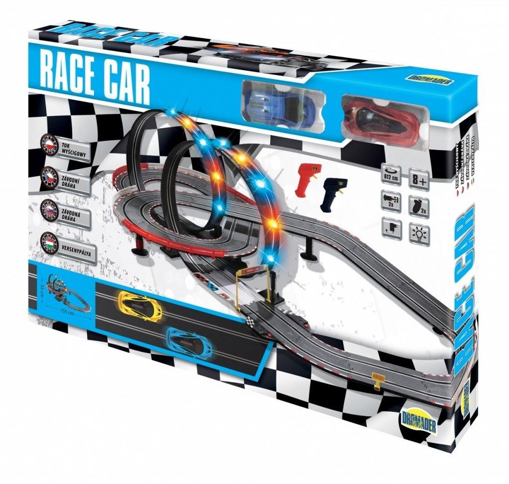 Tor wyścigowy Race Car 612 cm