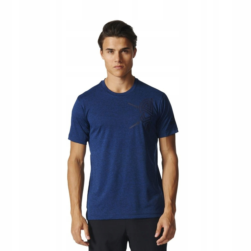 T-Shirt adidas Free Lift Tee Tri Color BK6085 S gr