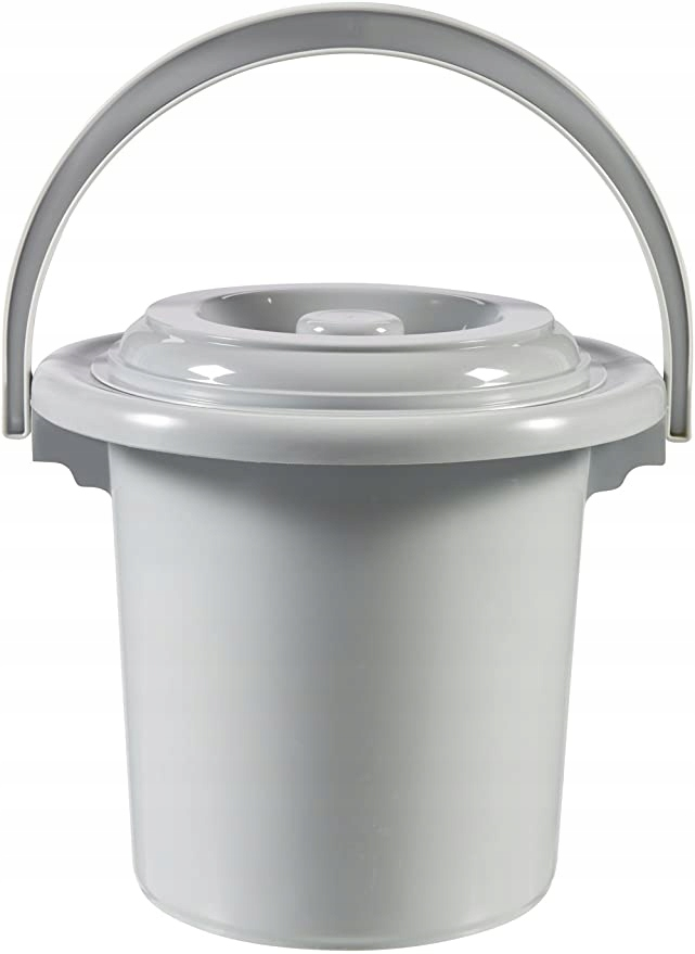 Wiaderko plastikowe 5L szare CURVER