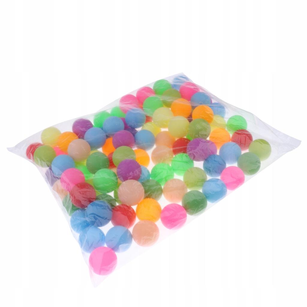 100 sztuk Różne kolorowe kulki