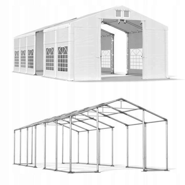 DAS COMPANY 4x16m 3-4,2m Namiot ogrodowy imprezowy