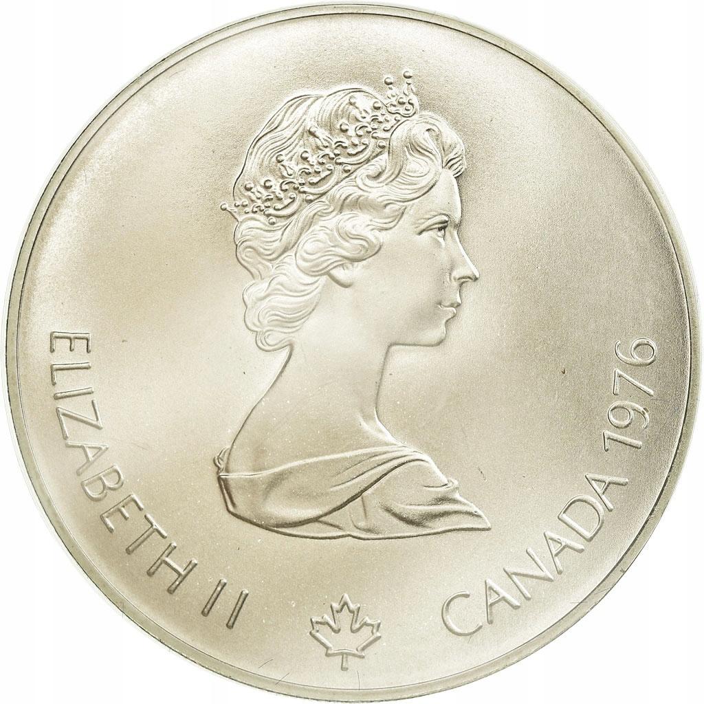 Moneta, Canada, Elizabeth II, 5 Dollars, 1976, Roy